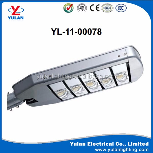 led aluminum street/road light IP66 housing with pole