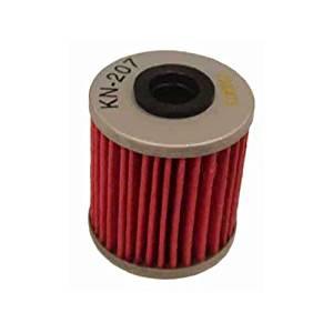 K & N Oil Filter KN-207 RMZ450 (05-13), RMZ250 (04-12), RMZ250 / 450 (04-12), KAWASAKI, KX250F (04-13)