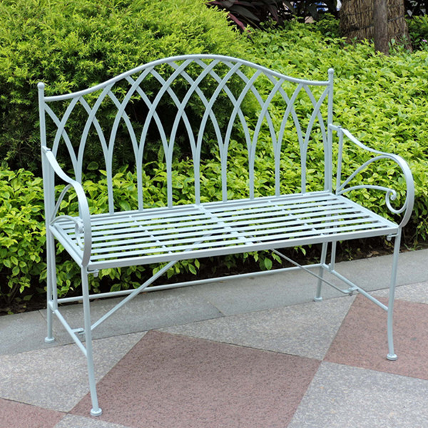 gothic vintage outdoor foldable iron garden bench. beautiful ideas. Home Design Ideas