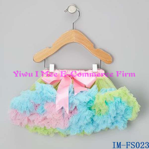 Trendy Kids Clothes Super Fluffy Newborn Baby Tutu Skirt for Girls Tutu Dresses with Ruffles IM-FS023