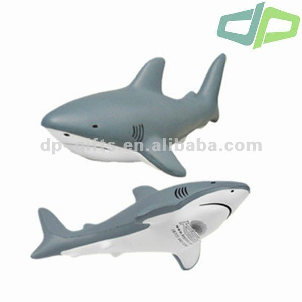 PU Promotional Toy Fish, PU Stress Toy Shark
