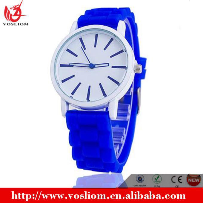 e07dfd2186d7 2017 barato al por mayor stock disponible señoras relojes de silicona banda  de goma Ginebra relojes