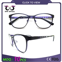 New model eyewear frame glasses colored eyeglass frames spectacle frames china