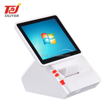 2018 Hot selling retail restaurant all in one windows pos terminal with printer