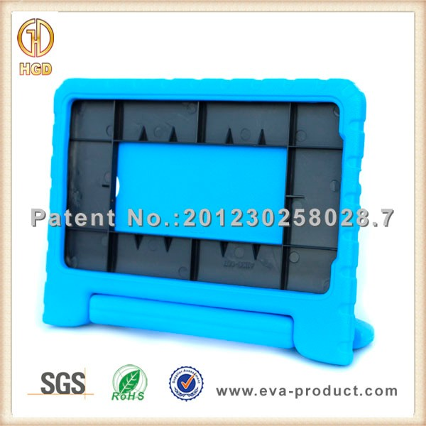 9.6 inch tablet case for samsung tab e t560 t561 with foam handle