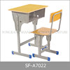 School Furniture Classical Standard Size Wood School Desks Chairs