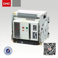 High breaking capacity YCW1-2000~6300 3 pole 1000a acb