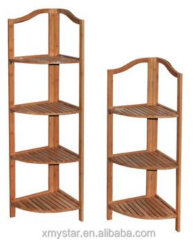 Natual Bambus-badezimmer-eckregal Badezimmer-aufbewahrungsregal - Buy  Bambus Bad Eckregal,Bad Ablageboden,Bambus-rack Regal Product on Alibaba.com