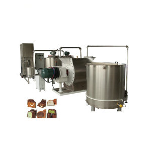 China Big Factory Automatic Chocolate Bar Making Production Line Machine