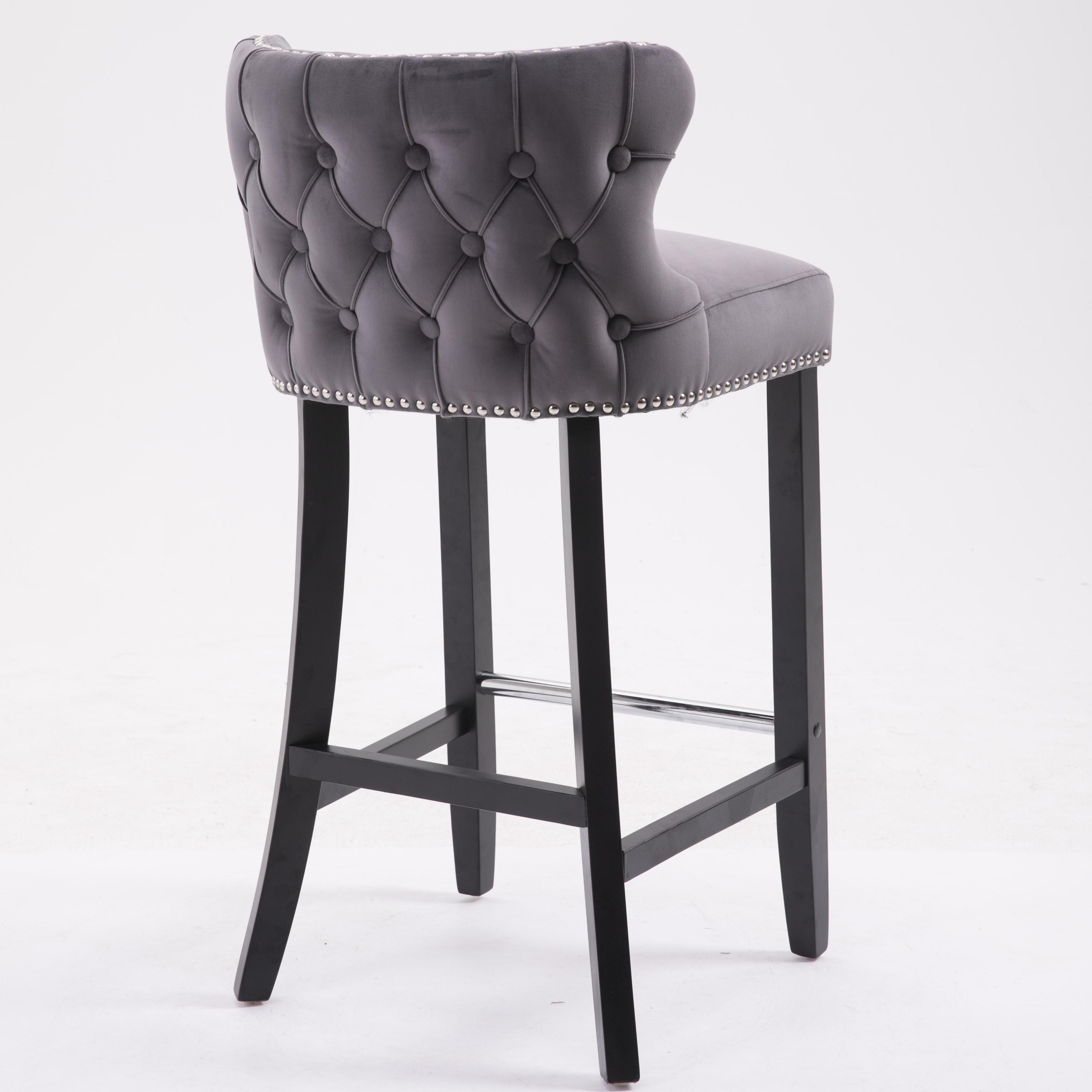 Incredible Solid Wood Leg Bar Stools Counter Stools Bar Chairs Buy Bar Stools Counter Stools High Chair Product On Alibaba Com Uwap Interior Chair Design Uwaporg