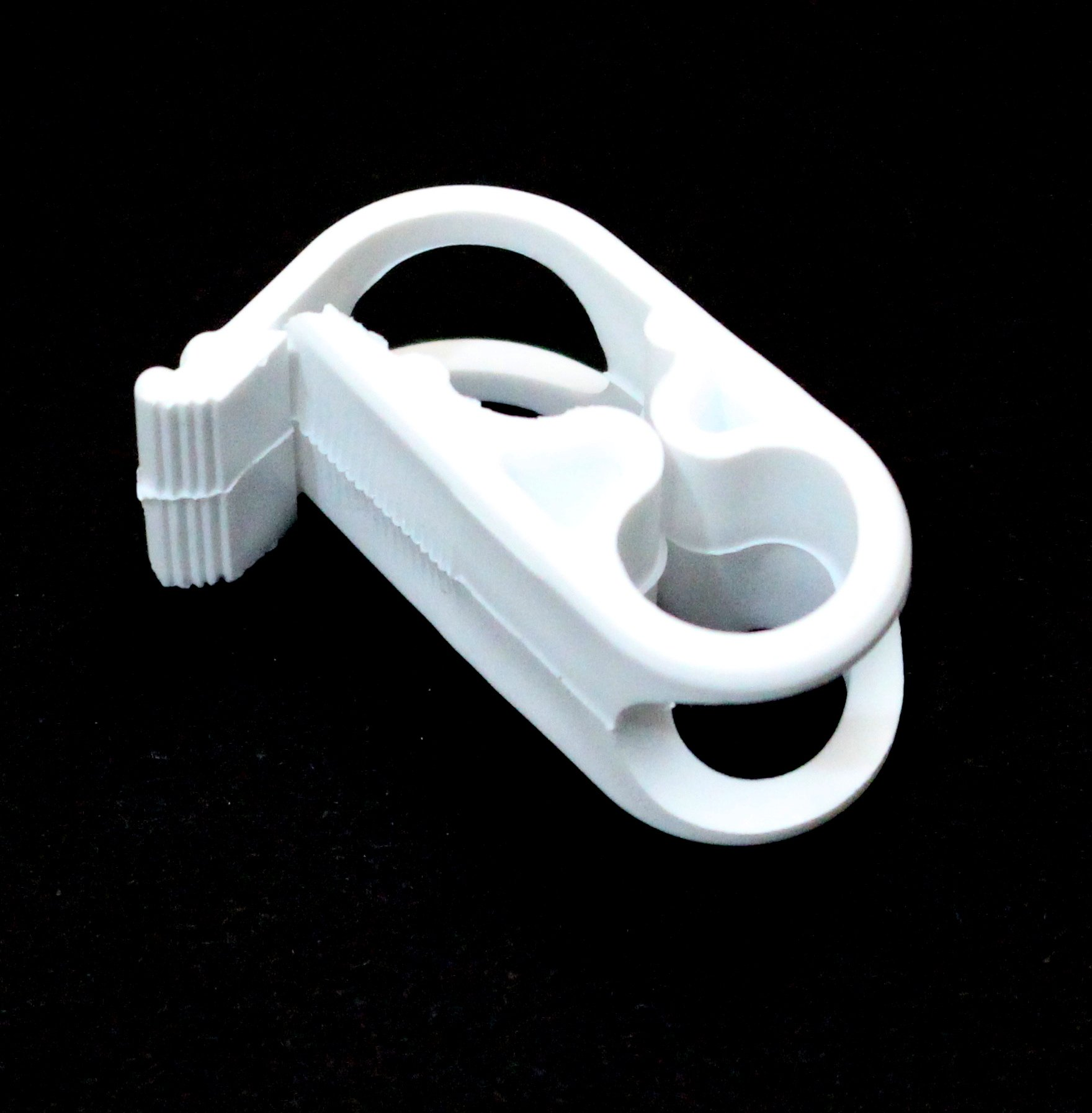 5 Pack Siphon Hose Shut Off Clamp Small Plastic Clamp Fits 7/16 in O.d.tubing Plastic Tubing Mid-range Clamp
