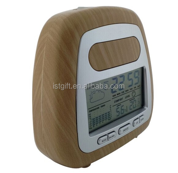 2016 New Model TCR2688 Cheap lcd Digital Clock