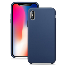 2018 Groothandel Custom Vloeibare Siliconen <span class=keywords><strong>Mobiele</strong></span> <span class=keywords><strong>Accessoires</strong></span> Cover Gsm Case Voor Iphone X 10 Luxe Telefoon Case
