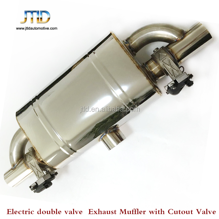 electronic exhaust muffler double valvetronic Exhaust muffler with remote control