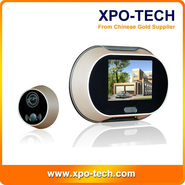 Wdv-1006 Hot Sale Wireless Front Door Peephole Camera - Buy ...