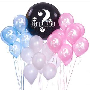 DEMITM137 Boy or Girl Gender Reveal Confetti Balloons For Baby Shower Gender Reveal Party