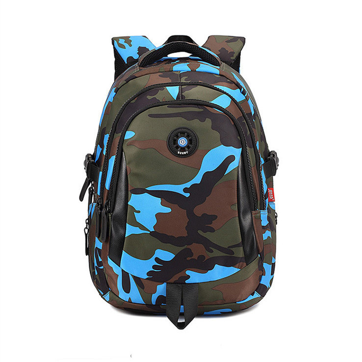 women travel backpack portable waterproof sport backpacks children schoolbag orthopedic school bag camouflage kids book bags