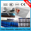 Aluminium profile panel protection PE film adhesive/protective film lamination glue for PVC window