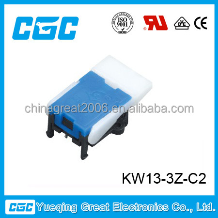 rohs telephone switch :KW13-3Z-C2 hook switch for telephone