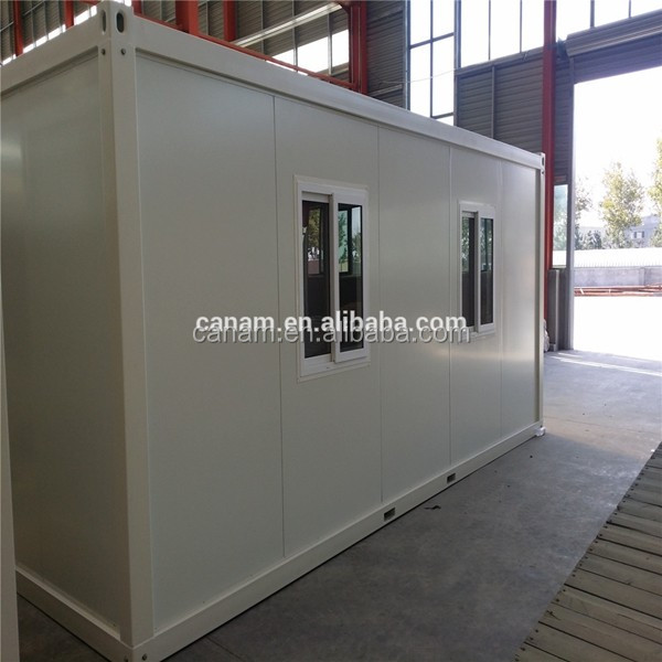 cheap and movable ISO9001 20ft modular container house shop