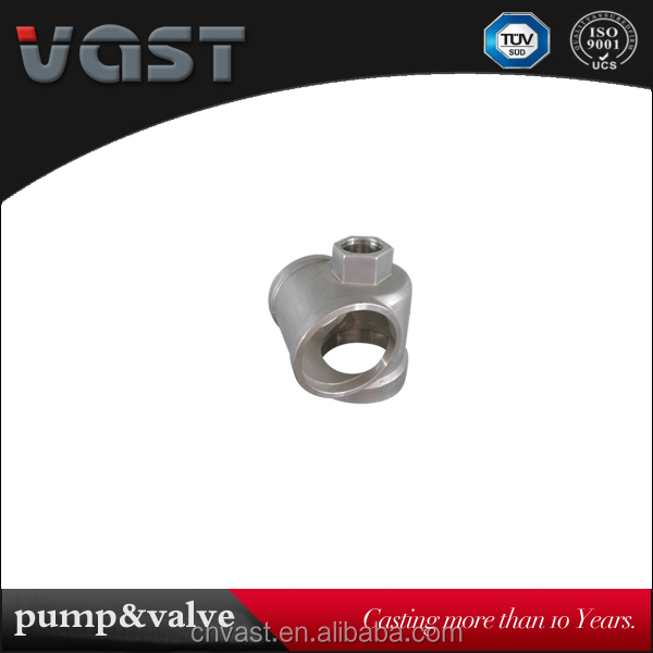 Brand new investment casted water pump parts with high quality