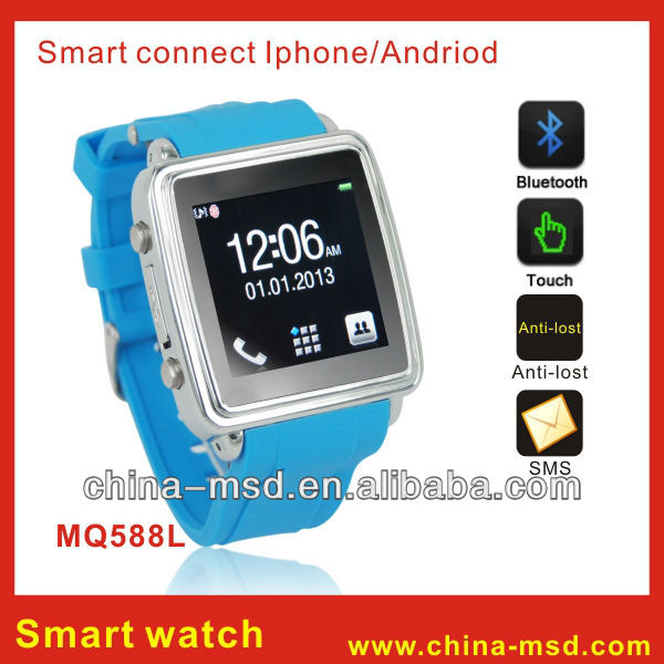 2013 newest smart watch for Iphone/Android phone