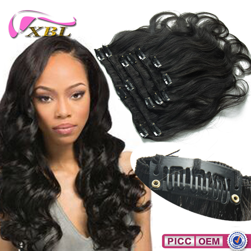 Clip In Remy Hair Extensions 7 Piece Clip In Remy Hair Extensions 7