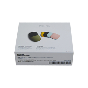 Custom Wireless Computer Mouse two piece Gift Box with rigid paper From Packaging Design Companies In China