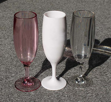 170 ml Onbreekbaar <span class=keywords><strong>PC</strong></span> Champagne Fluit Bril Goblet Voor Brunch <span class=keywords><strong>Wijn</strong></span>