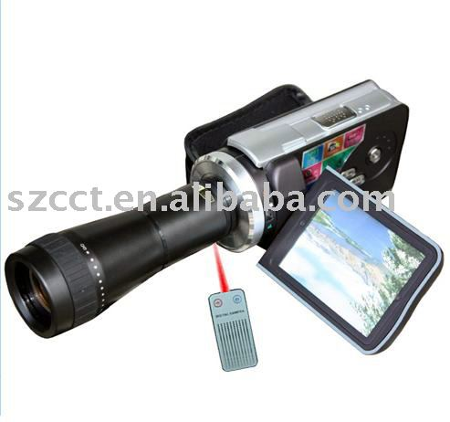 hot selling mutifunction digital camcorder with 72x digital zoom DV-308