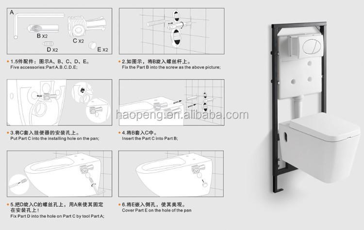 100 toilet dimensions from wall images for Bathroom p trap height
