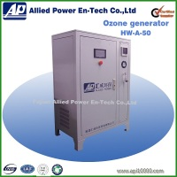 50g/h ozone generator usa for exhaust gas in perfoum production