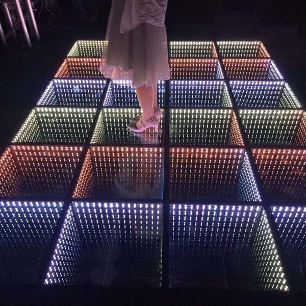 Fashion Led 3d Optical Illusions Led Mirror Led Dance