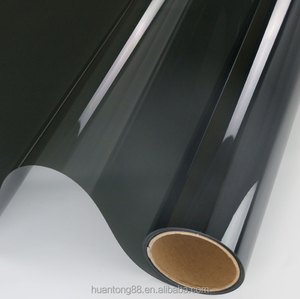 Good Quality Nano Ceramic Coating/Carbon Black/ Color Steady PET Film For Car Window Wrapping