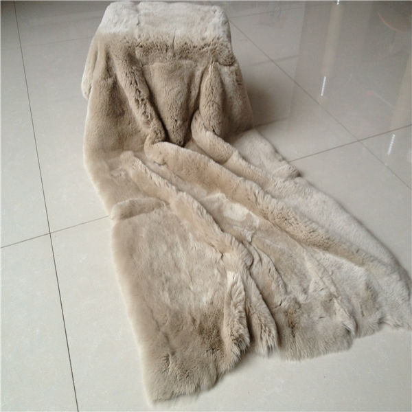 Factory supply Good Quality rex rabbit fur plates for garments/collars/linings/gloves