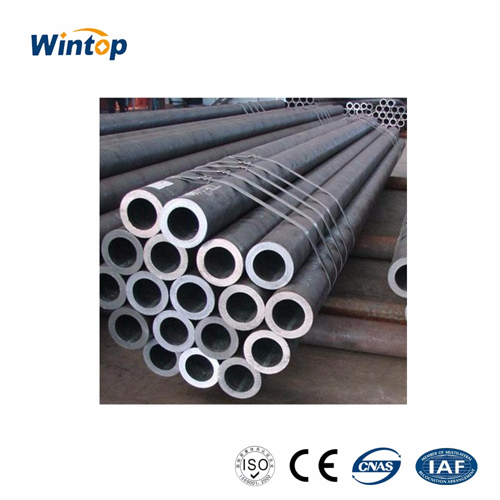 3PE Anti-corruption coated erw tube carbon steel pipe standard length schedule 40 black steel pipe for building carbon steel pip