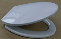 Plastic toilet seat cover heavy Elongated seat