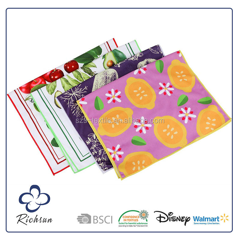 Printed Kitchen Tea Towel, Cheap Kitchen Towels Made in India