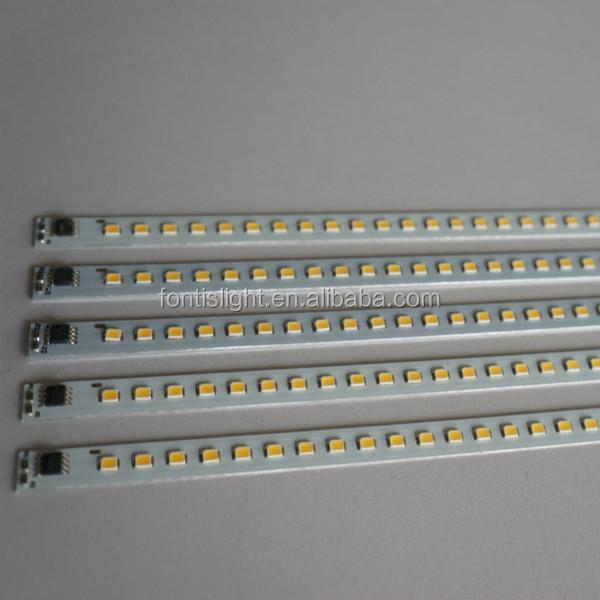 Aliexpress Com Buy 50cm Aluminum Led Smd3014 Chip Under: 230v 2835 Led Strip Rigid Bar