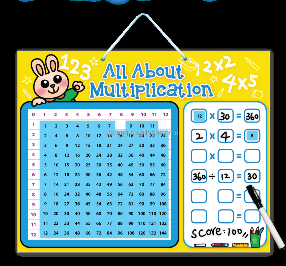 E1015 2014 new toys for kidschild and teacher learning maths e1015 2014 new toys for kids child and teacher learning maths multiplication table magnetic board gamestrikefo Images