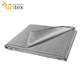 welding fabric grey fiber glass blanket thermal insulation