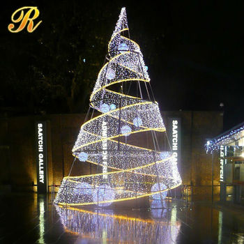 used commercial christmas decorations led christmas tree light