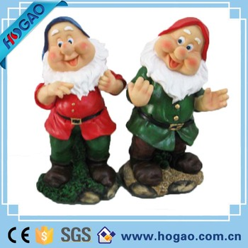 OEM Resin Garden Dwarf Statues, Outdoor Dwarf Figure For Garden Decoration,  Wholesale Garden Figures