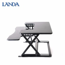 2018 Popular oem leg adjustable height ergonomic office workstation desk
