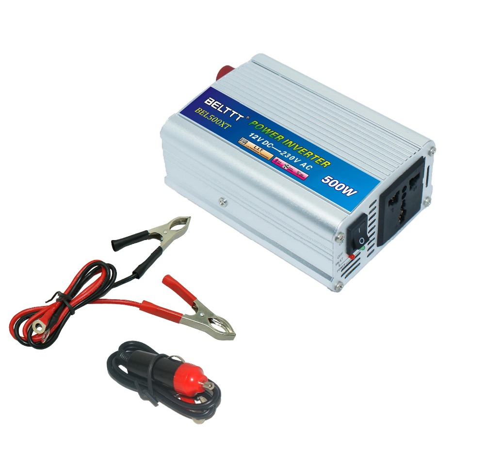 CE Certified 500w Car Power Inverter with High Efficiency