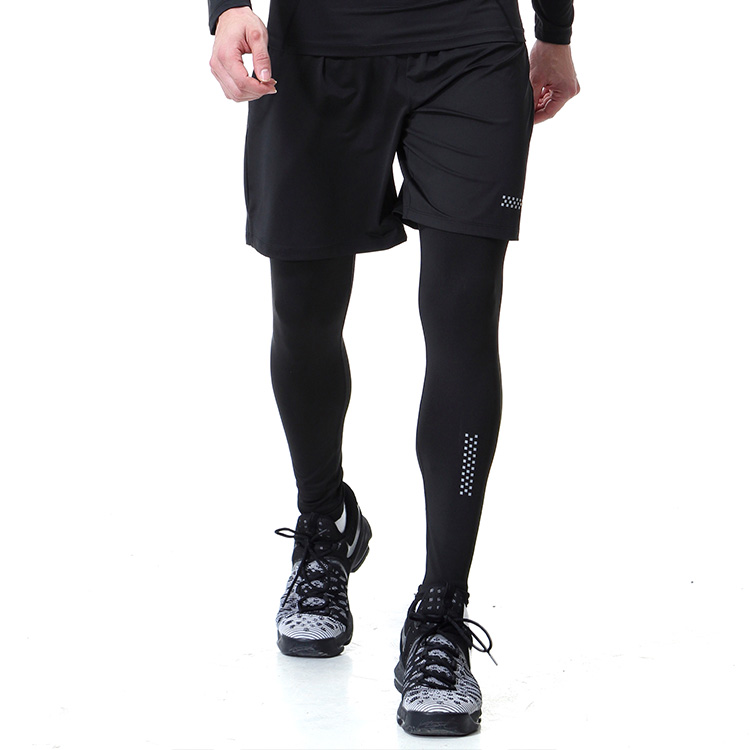 Schweiß Wicking Herren Kompression turnhalle sport hosen und aktive leggings