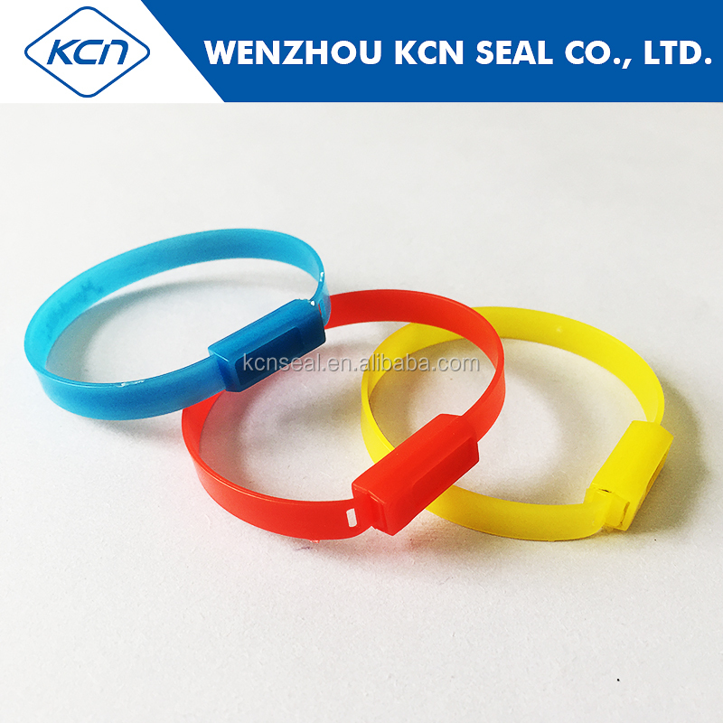 High security electrical meter plastic container Seal