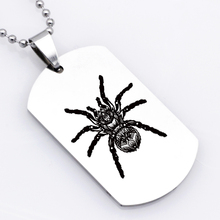 (High) 저 (Quality 스퀘어 (times square) Men Stainless Steel Jewelry 큰 Spider Necklace Welcome Drop Shipping YP6206