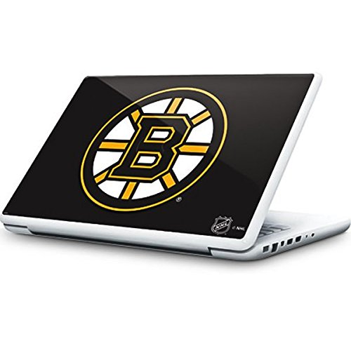 NHL Boston Bruins MacBook 13-inch Skin - Boston Bruins Solid Background Vinyl Decal Skin For Your MacBook 13-inch