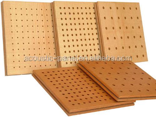 pas cher mdf perfor acoustique panneau de bois pour. Black Bedroom Furniture Sets. Home Design Ideas